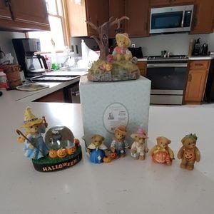 Cherished teddies avon exclusive 7 bears